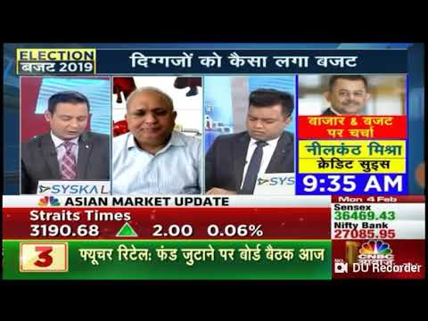 Market expert Samir Arora ka exclusive interview and given views on market after budget on 04 Feb 19