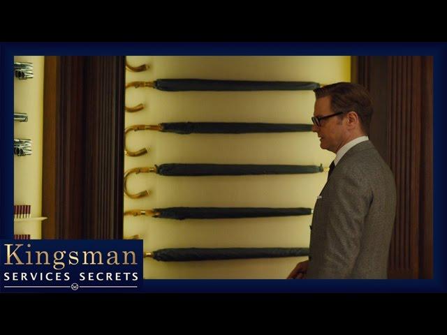 Kingsman : Services Secrets - Extrait La Pièce d'armes secrète [Officiel] VF HD