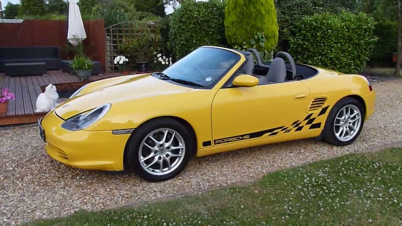 video review of 2002 porsche boxster 2 7 convertible for. Black Bedroom Furniture Sets. Home Design Ideas