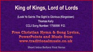 King Of Kings - Hymn Lyrics & Music