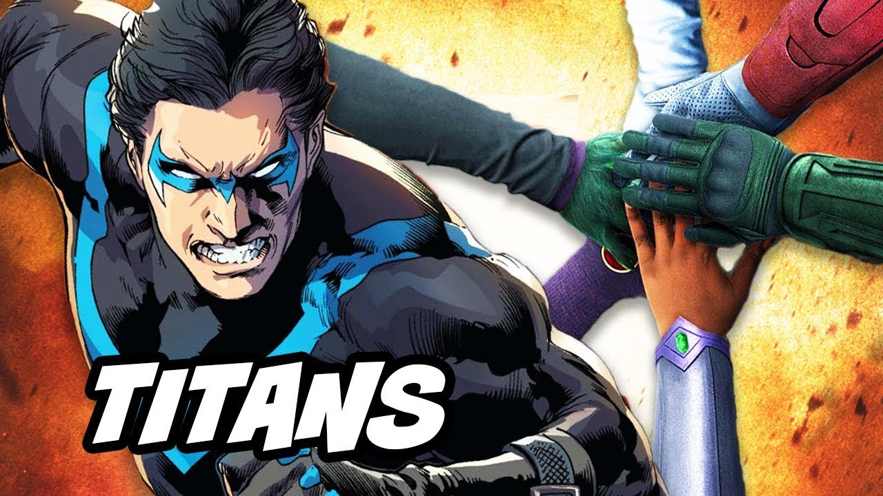 Titans Episode 1 Nightwing TV Show Cast Breakdown