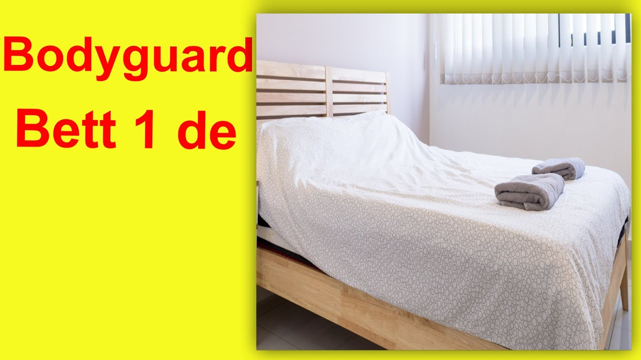 bodyguard matratze h3 von bett1 de test youtube. Black Bedroom Furniture Sets. Home Design Ideas