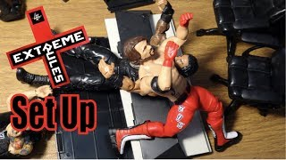 WWE Action Figure Set Up - Extreme Rules
