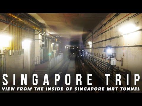 Inside of Singapore MRT Tunnel 2017   Broewnis Travel