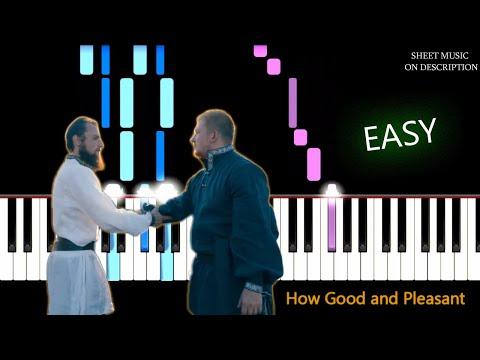 Simon Khorolskiy - How Good And Pleasant(Как Хорошо и Приятно) | EASY Piano Tutorial