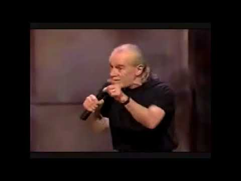 George Carlin   I don't vote, on election day I stay home