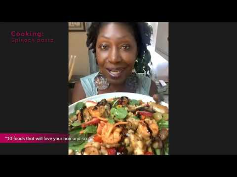 Cooking: Spinach Salad - Chef Angelia