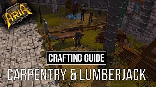Crafting Guide - Carpentry & Lumberjack | Legends of Aria (Ultima Online 2)