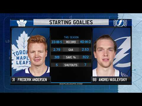 Molson Canadian Leafs Game Day: Toronto at Tampa Bay - March 20, 2018
