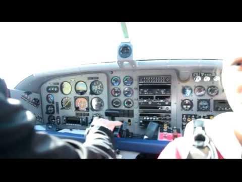 Pilatus PC-6 Porter Turbo - Engine Start and Take-Off
