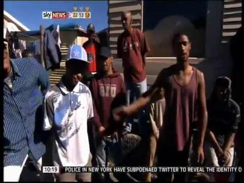 Cape Town - South Africa Gang Warfare (Sky News)