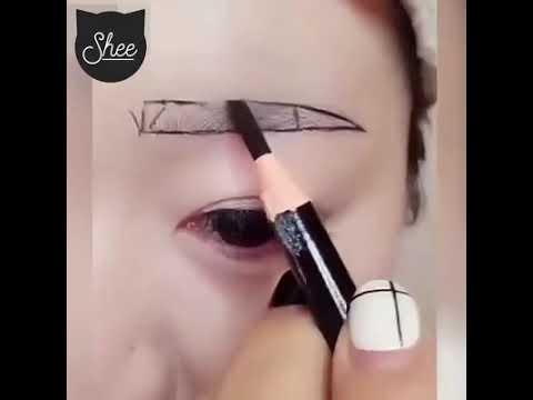 Cách vẽ chân mày