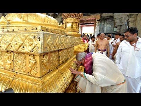 President Pranab Mukherjee to Visit Tirumala || Security Beefed Up