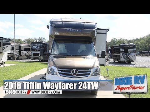 2018 Tiffin Wayfarer 24TW for sale now at Dixie RV in Hammond Louisiana