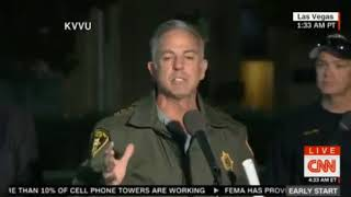 Las Vegas police briefing over 100 injured over 20 dead including an off duty police officer