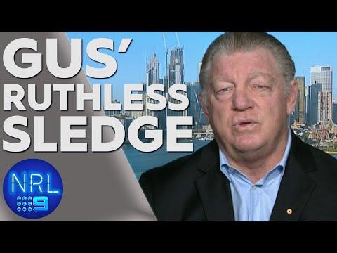 Gus' smackdown for league reporter | NRL on Nine
