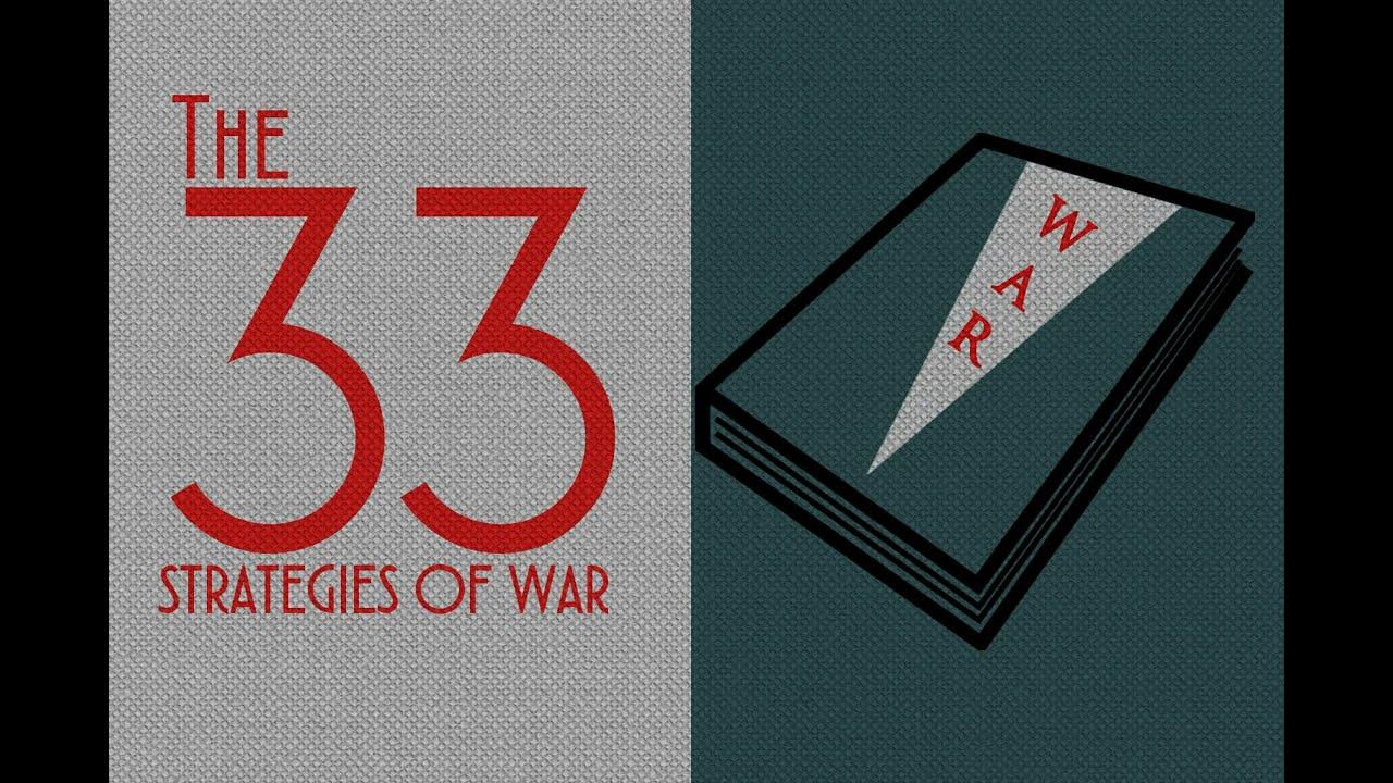 Robert Greene The 33 Strategies Of War Book Quotes Youtube
