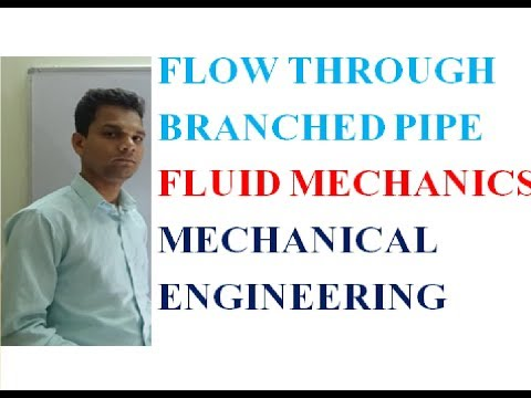 FLOW THROUGH BRANCHED PIPE - YouTube