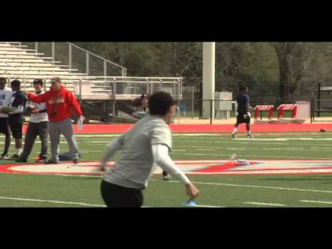 NUC Baton Rouge 2012 - Top Plays From The High School Football Camp