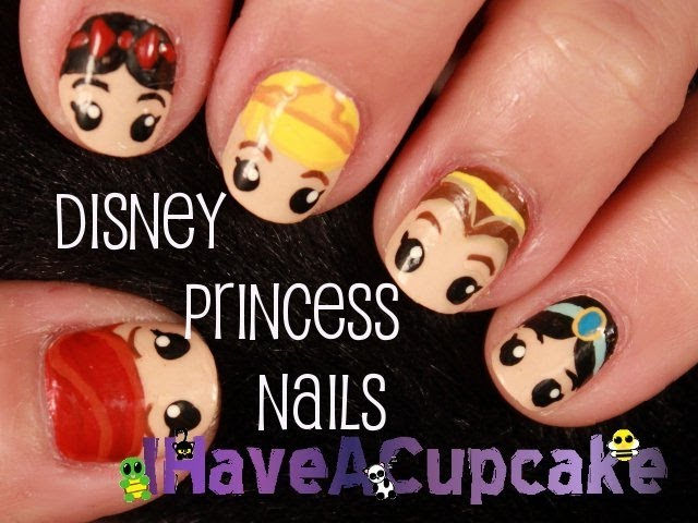7 Disney Inspired Nail Designs That Are Totally Charming ... …
