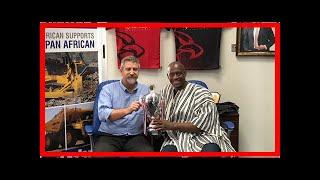 Breaking News   Panafrican/Komatsu Commits to Rugby Development in Ghana