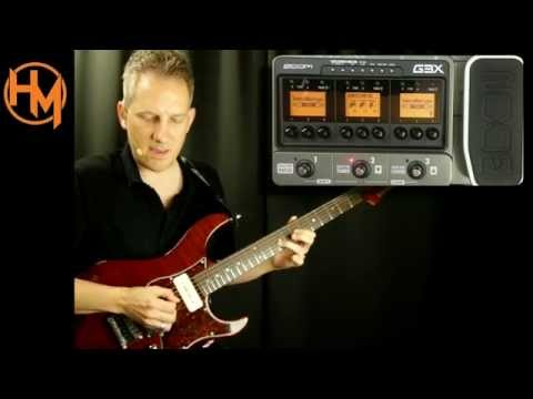 Zoom G3 How to create a patch from scratch