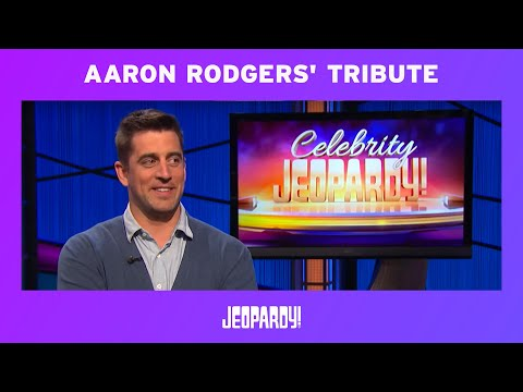 Celebrity Jeopardy! - Aaron Rodgers' Tribute to SNL