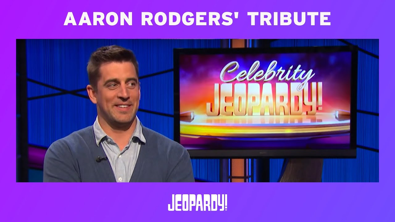 Aaron Rodgers Says F*ck on Jeopardy, Censor Misses It ...