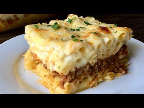 Egyptian Baked Pasta Recipe | Macaroni Bechamel | Em's Kitchen