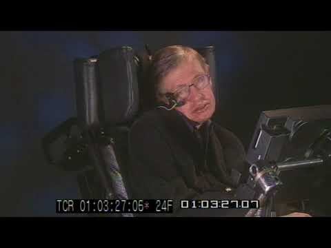 In Memoriam Dr. Stephen Hawking:  Interview on Human Impact on Planet Earth