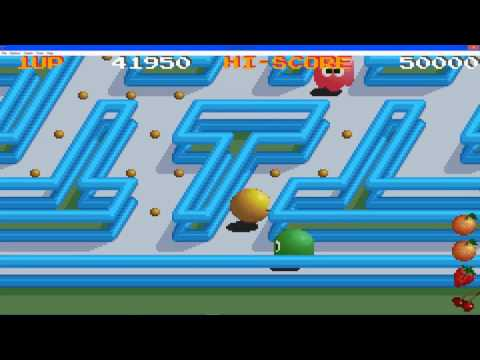 Pac Man Collection Gameplay Pac Mania Part 1