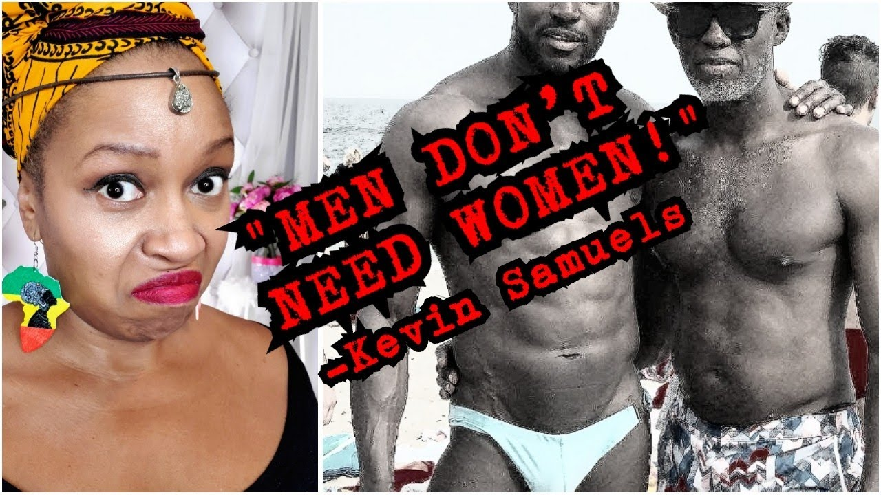 EXPOSED! Kevin Samuels Fantasizes abt a world with NO WOMEN & Ped