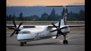 Horizon Air Bombardier Dash 8 Q400 [N449QX] Landing