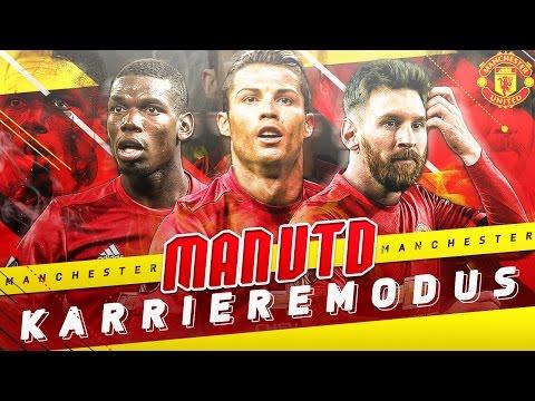 OMG!!! MESSI UND CR7 UNTERSCHREIBEN BEI MAN UNITED!!!   FIFA 17: MANCHESTER UNITED KARRIEREMODUS #01