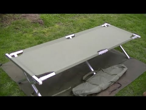 Outwell Posadas Double Folding Camp Bed Review