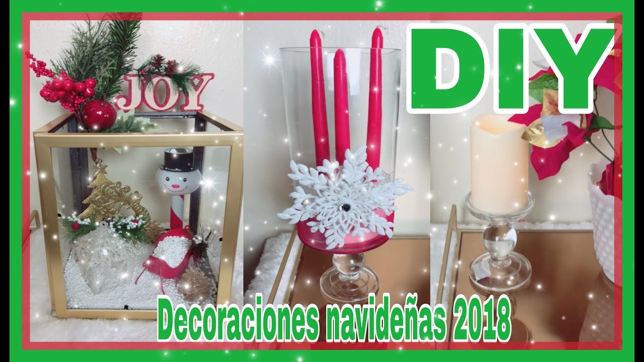 Ideas Para Decoraciones Navideñas Diy Dollar Tree Decoraciones NavideÑas 2018 Ideas Para Decorar En Navidad