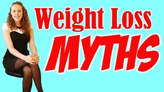 Weight Loss Myths!! Top 6 Worst Diet Tips & How to Lose Weight for Good! Healthy & Fit!