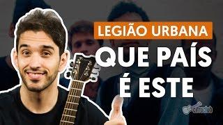 Download Que País é Este - Legião Urbana (aula de violão) MP3 song and Music Video