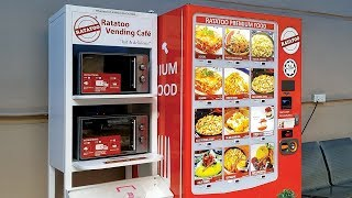 Food Vending Machine In Malaysia Hospital
