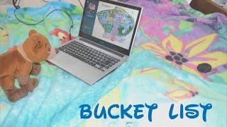 Disney Cultural Exchange Program #33 - Bucket List & Updates