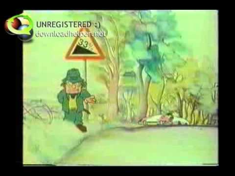 COI Gradient Road Signs Percentages c1980s UK Public Information Film