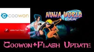Ninja World: Coowon+Flash Update