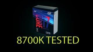 Live VLOG #67 - Intel 8700k full system build, install, configuration, testing, mining. HP Omen X 35