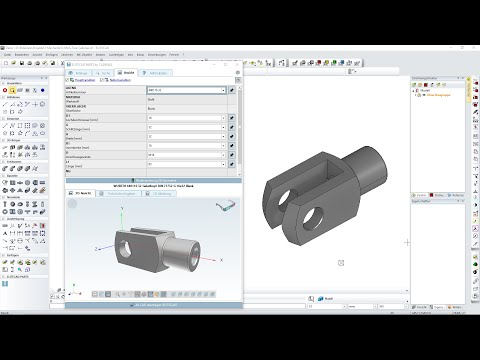 ELITECAD Mechanics 14 integration of CADENAS' 3D CAD maufacturer catalogs