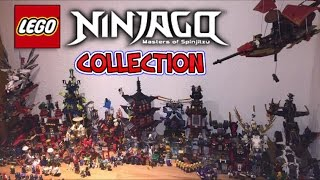 LEGO NINJAGO COLLECTION DISPLAY 2017 - Update #2 My Lego Ninjago City Tour!!