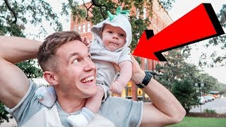 Funny Baby Moment CAUGHT ON CAMERA!