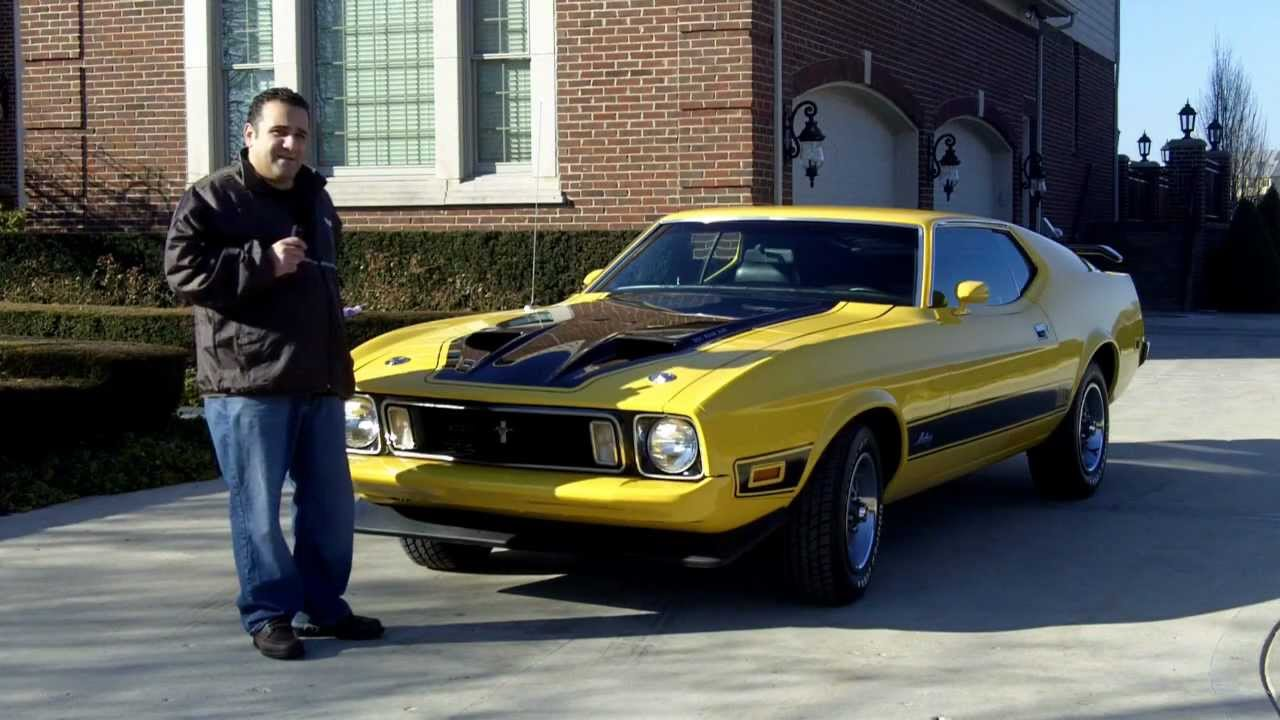 1973 ford mustang mach 1 classic muscle car for sale in michigan vanguard motor sales