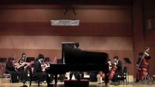 """Beethoven: Konzert für Klavier und Orchester Nr.2 Mov.2 """"Adagio"""" Op.19  サン=オートム室内オーケストラ"""