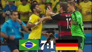 Brazil vs Germany 1-7 | world Cup 2014 | Semi-final |  Highlights 720p