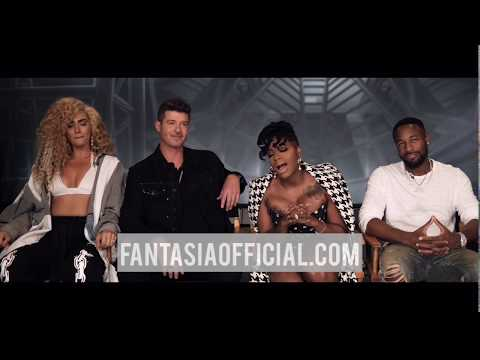 Long John - Fantasia Announce Tour with Tank, Robin Thicke, and The BonFyre (video)